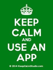 KeepCalmStudio.com-[Crown]-Keep-Calm-And-Use-An-App