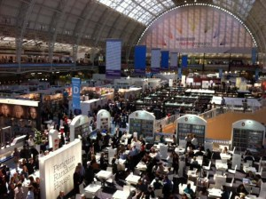 A hive of activity at London Book Fair